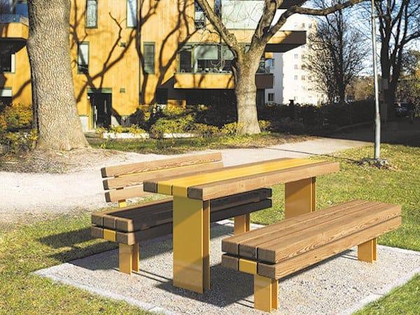 KONG | Tavolo per spazi pubblici