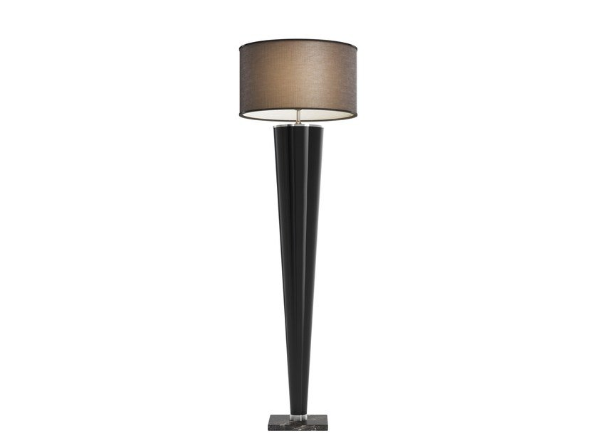 Solid wood floor lamp KONO by Capital Collection