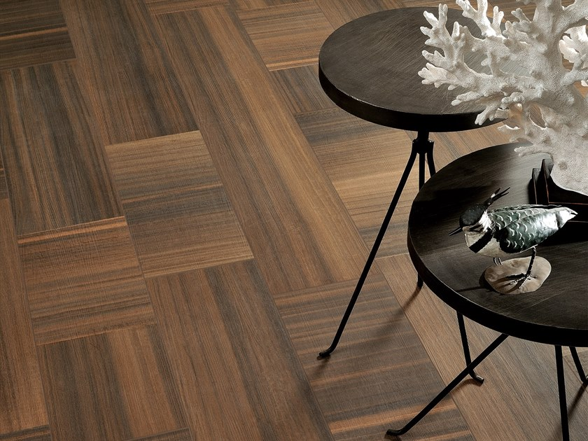 Porcelain stoneware wall/floor tiles with wood effect KOORI by Ceramica Fioranese