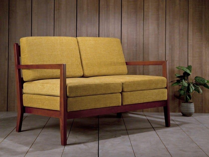 Fabric small sofa KORA | Small sofa by Kann Design