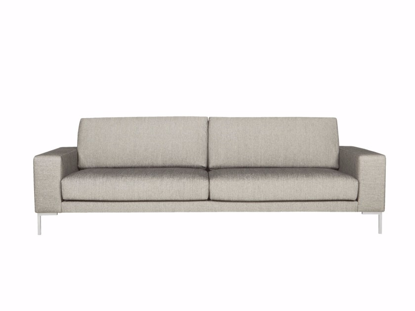 Upholstered 3 seater fabric sofa LASSE by SITS
