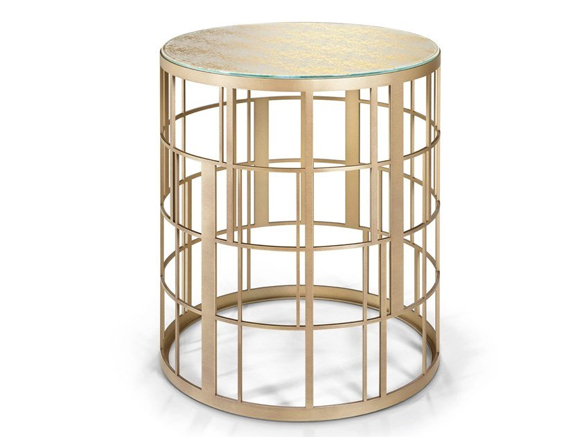 Round side table KORO | Coffee table by Sicis