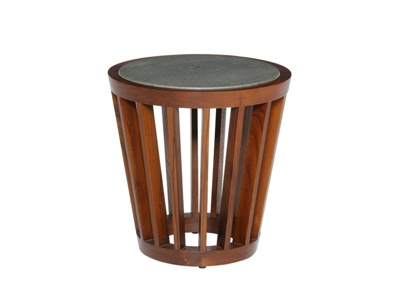 Round side table KOROGATED | Side table by WARISAN