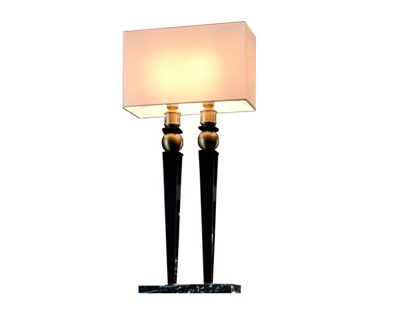 MDF table lamp KORP B by Capital Collection