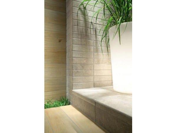 Pavimento/rivestimento effetto pietra per esterni KORZILIUS MODERN STONE by tubadzin