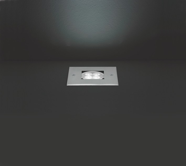 LED walkover light extruded aluminium steplight KOS F.880 by Francesconi & C.