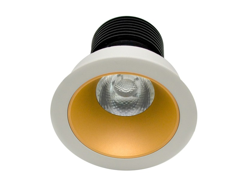 LED round recessed aluminium spotlight KOS by LED BCN