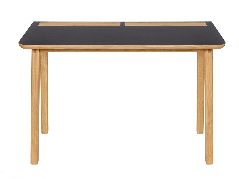 Oak secretary desk KOTA by Woodman
