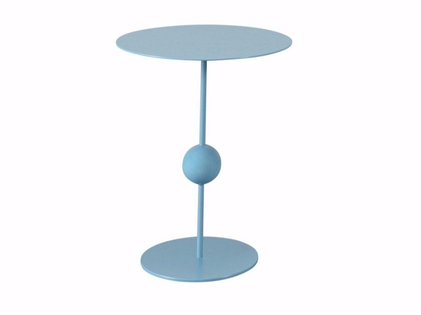 Round steel coffee table KOX by AZEA