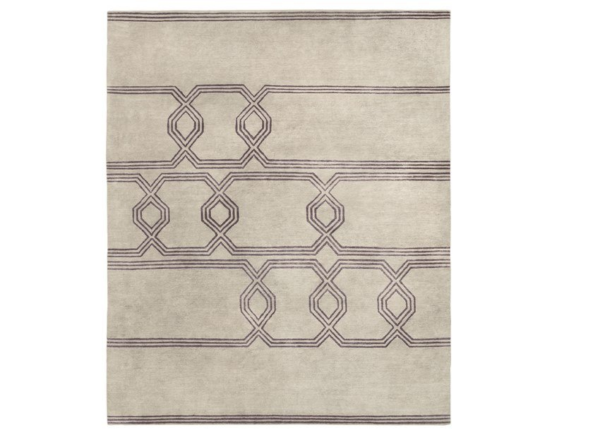 Patterned handmade rug KOY by Kristiina Lassus
