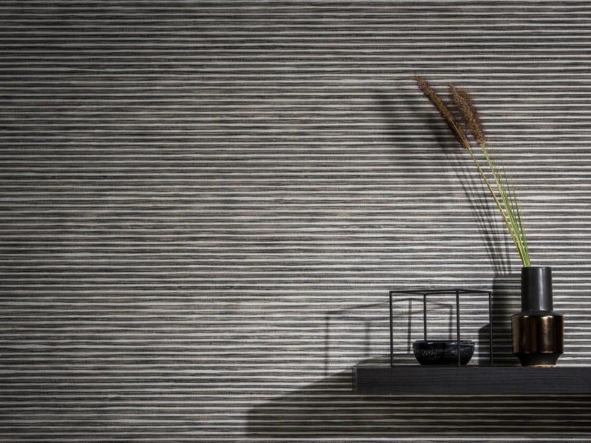 Non-woven paper wallpaper KOYORI BICOLOR STRIPE by Omexco