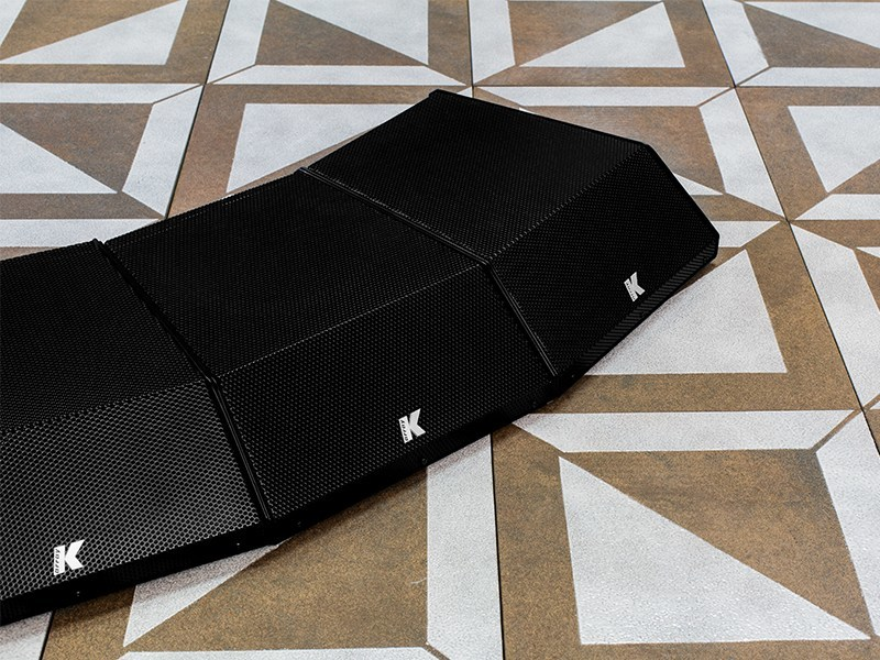 Low profile, variable coverage speaker KRM33 by K-array