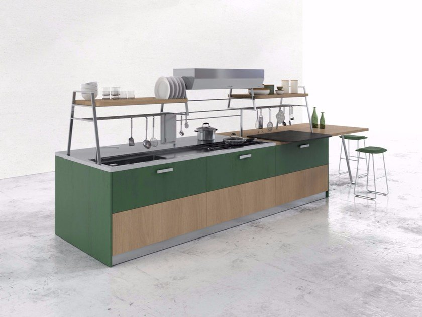 Fitted kitchen KS by Del Tongo
