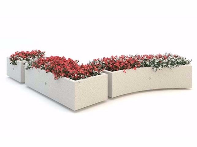 Flower pot KUBB by Bellitalia