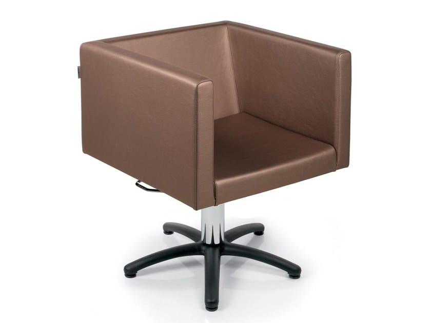 Hairdresser chair KUBICA DIECI by Gamma & Bross