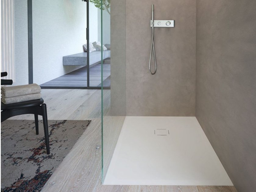 Built-in Aquatek shower tray KUBO by DISENIA