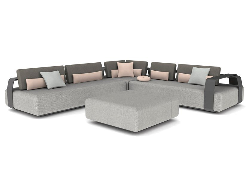Sectional fabric sofa KUMO | Sectional sofa by MANUTTI