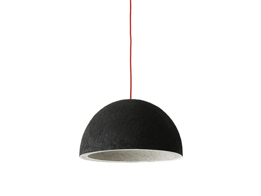 Contemporary style direct light paper pendant lamp KUOSA by INDI