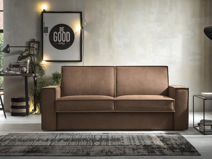 3 seater fabric sofa bed KURT by Felis