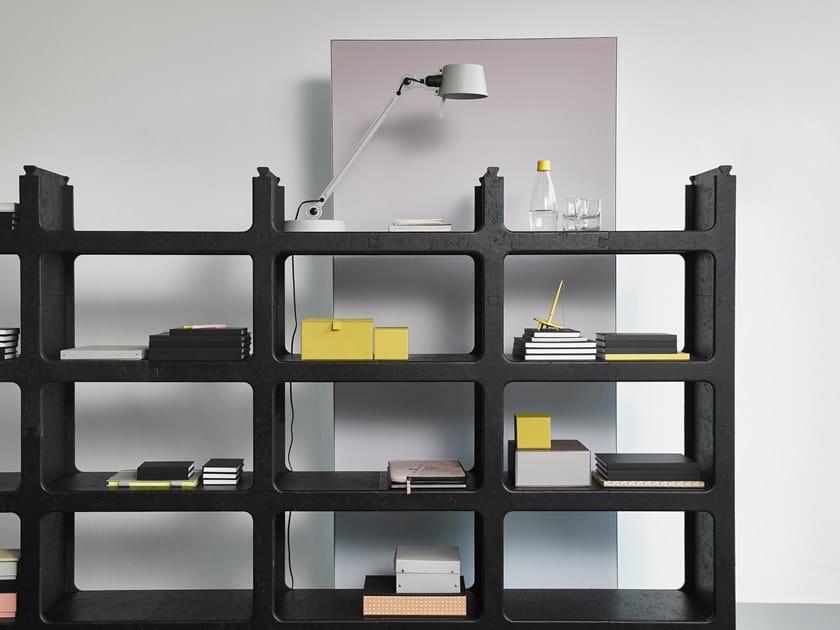 Offenes modulares Bücherregal KWART by Casala