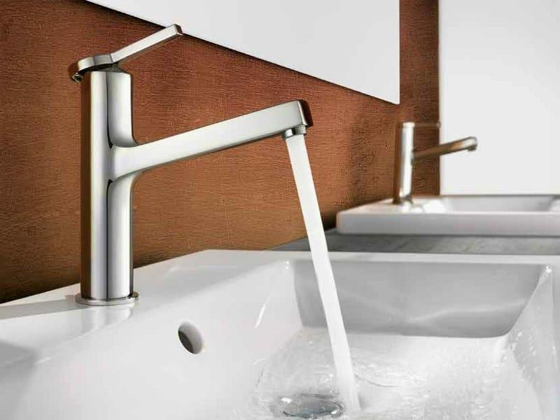 Countertop 1 hole washbasin mixer KWC AVA | Countertop washbasin mixer by KWC