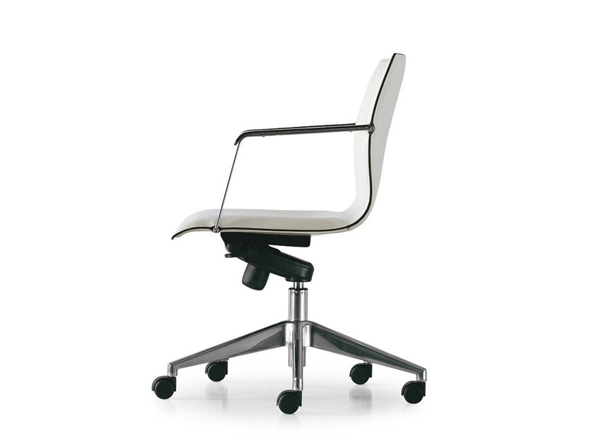 Height-adjustable task chair with armrests KX EXECUTIVE | Task chair by FANTONI