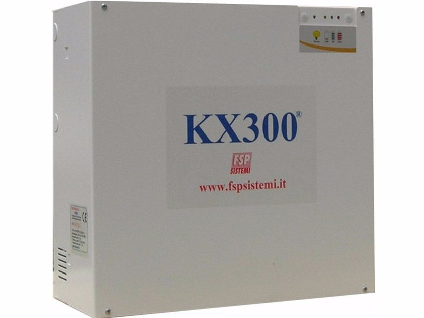 Pressurization system for filtering smoke-proof KX300® by FSP SISTEMI