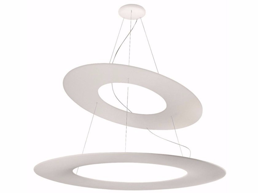 LED expanded polyurethane pendant lamp KYKLOS | LED pendant lamp by Linea Light Group