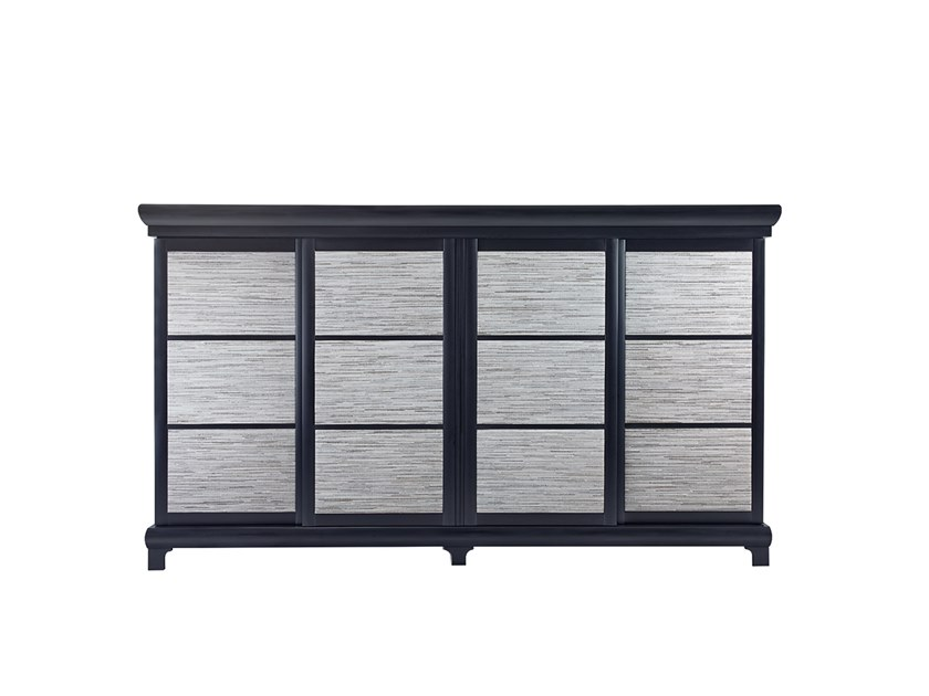 Wooden sideboard with sliding doors KYOTO ATTO II by Promemoria