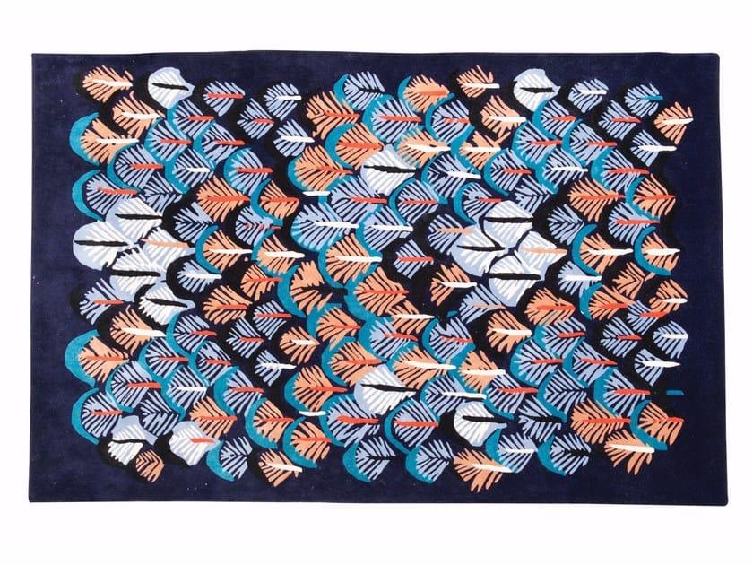 tapis rectangulaire en laine kyoto by roche bobois - Tapis Roche Bobois