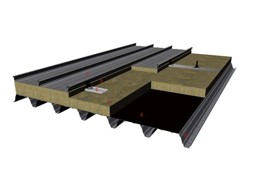 Copertura In Legno Dwg : Pacchetto di rivestimento per tetti e facciate kalzip duoplus by kalzip