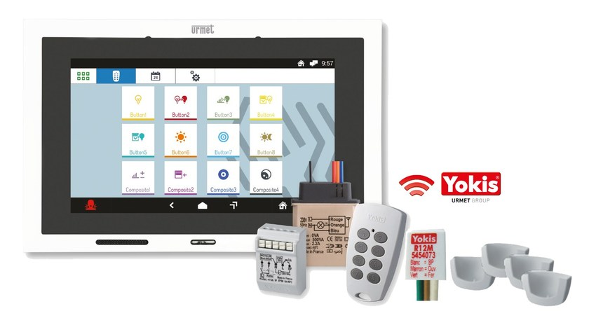 Building automation system interface Kit Yokis + Urmet by YOKIS