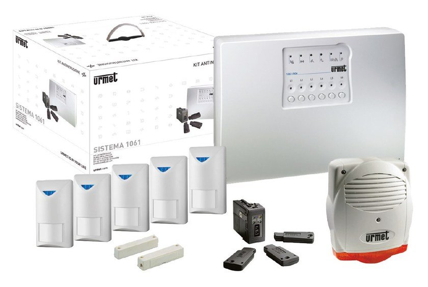 Anti-theft and security system Kit antifurto PLUS by Urmet
