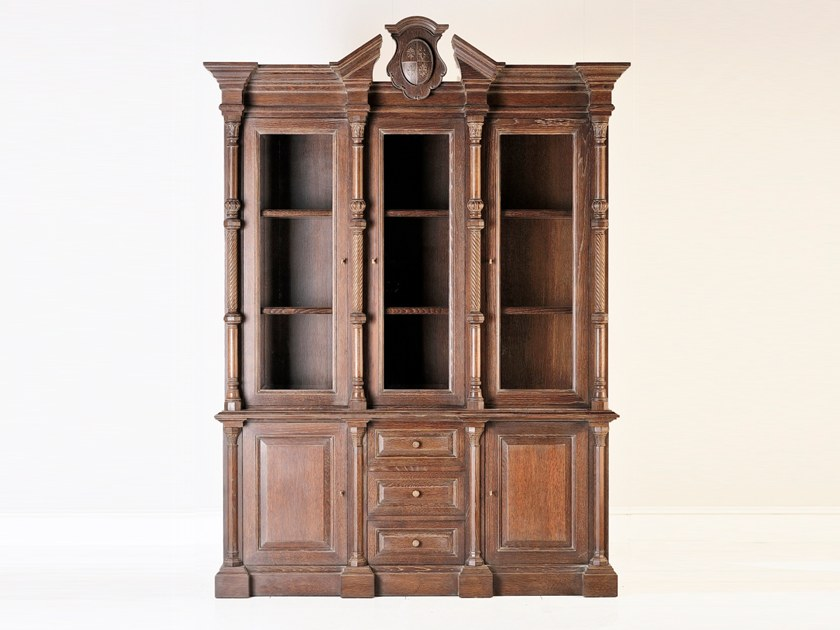 Oak display cabinet L 1517 | Display cabinet by Annibale Colombo
