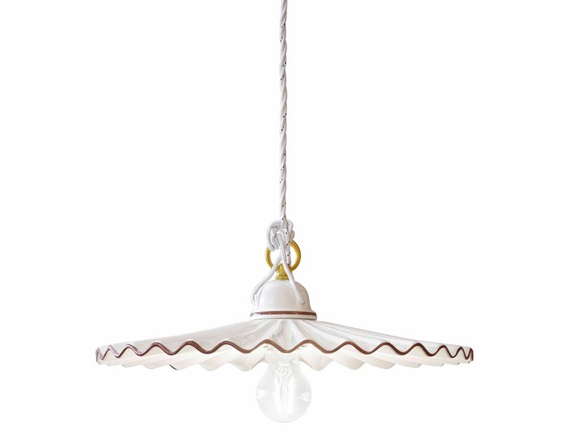Ceramic pendant lamp L'AQUILA   Ceramic pendant lamp by FERROLUCE