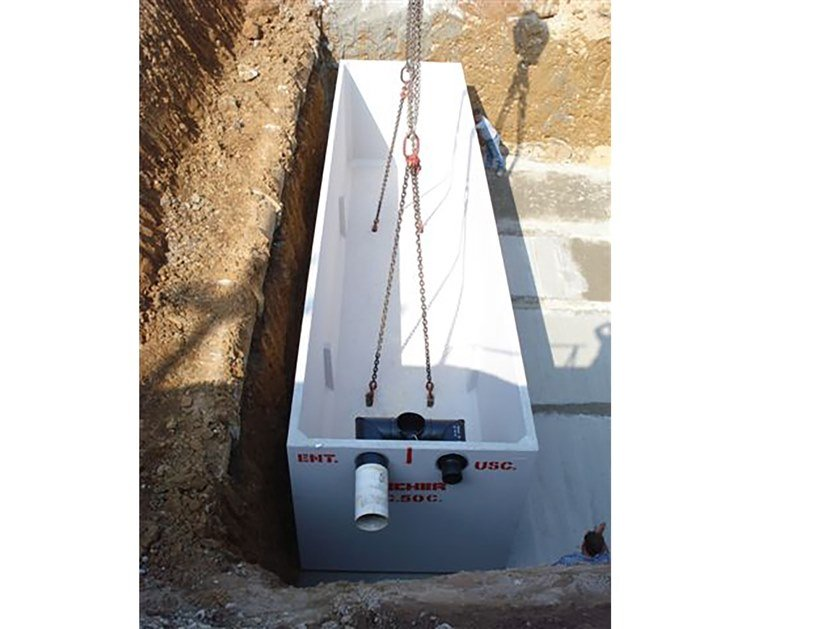 Rainwater recovery system L.C. by Pircher