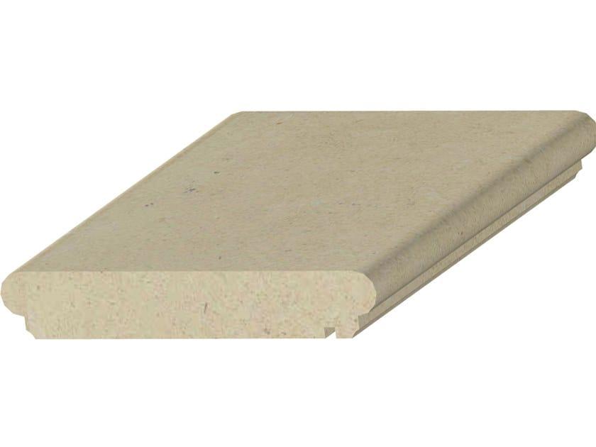 Coprimuro in pietra leccese L02 | Coprimuro in pietra leccese by PIMAR