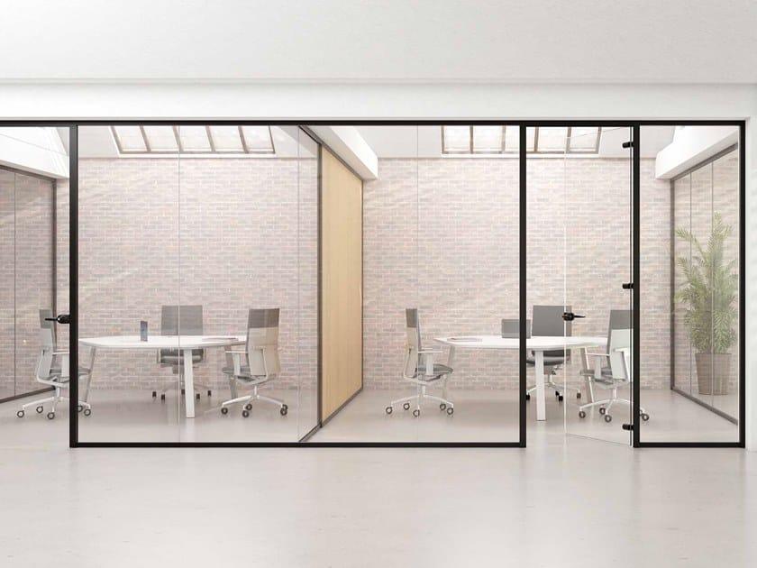 Parete mobile per ufficio L50 by Levira International