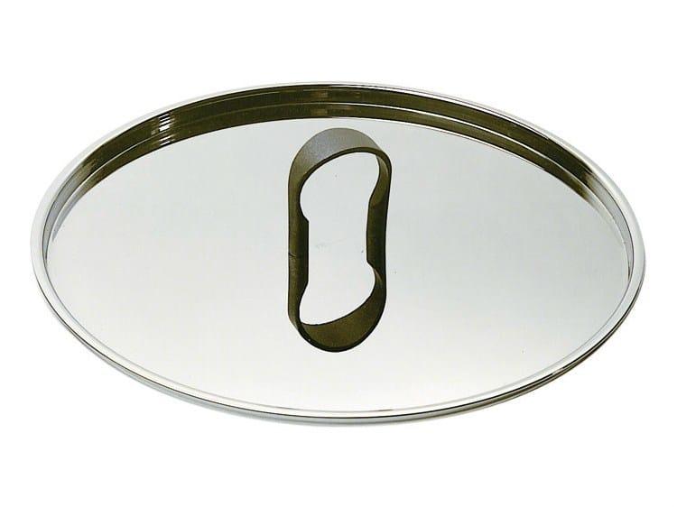 Stainless steel pan lid LA CINTURA DI ORIONE   Pan lid by Alessi