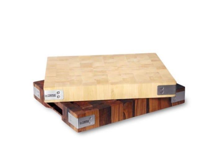 Solid wood chopping board LA CORNUE by BILLOT CHABRET by La Cornue