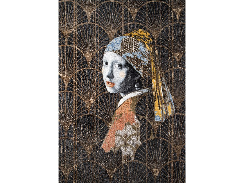 Marble mosaic LA PERLE by Lithos Mosaico Italia