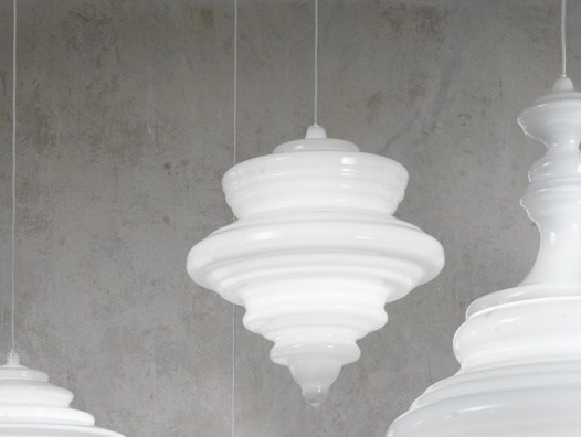 Blown glass pendant lamp LA SCALA | Pendant lamp by Lasvit