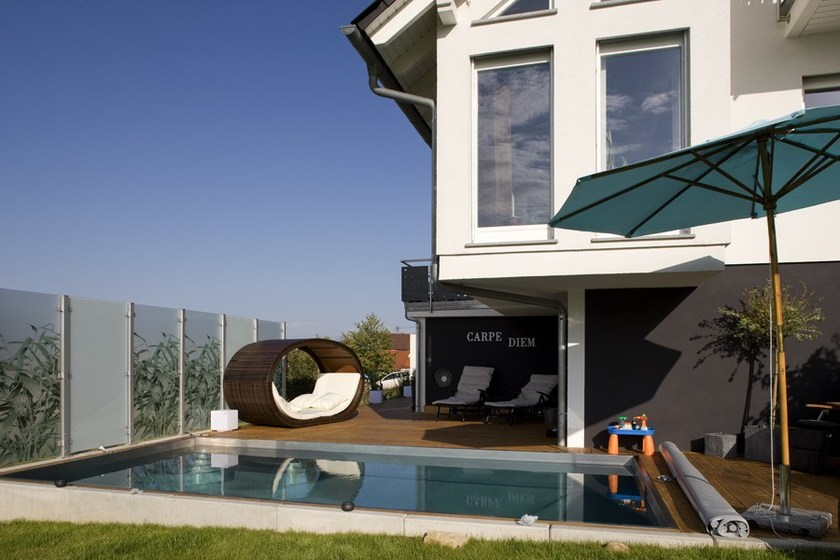 holzhaus la spezia by spazio positivo. Black Bedroom Furniture Sets. Home Design Ideas