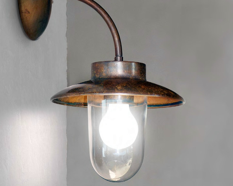 Metal wall lamp with fixed arm LA TRAVIATA | Wall lamp with fixed arm by Aldo Bernardi