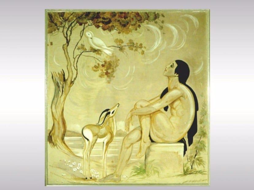 Decorative painting LA VOIX DE PAN by Woka Lamps Vienna