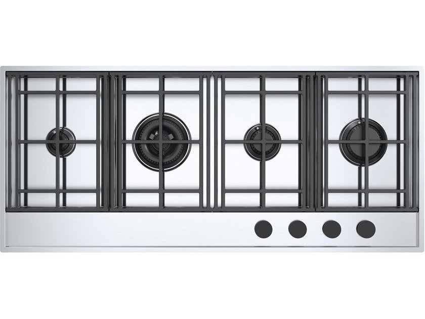 Gas stainless steel hob LAB EVOLUTION 1PLE3D by Barazza
