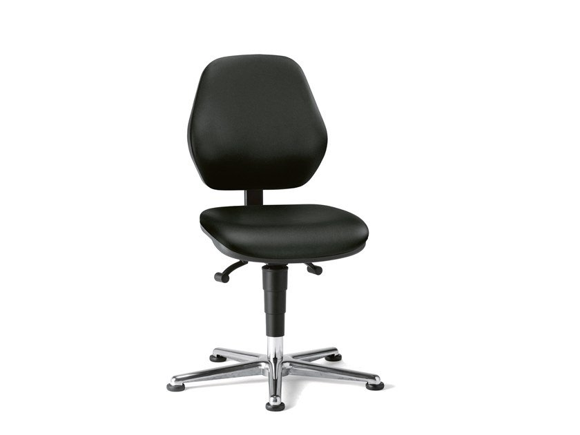 Swivel Laboratory chair with 5-Spoke base LABOR BASIC 9130 by bimos