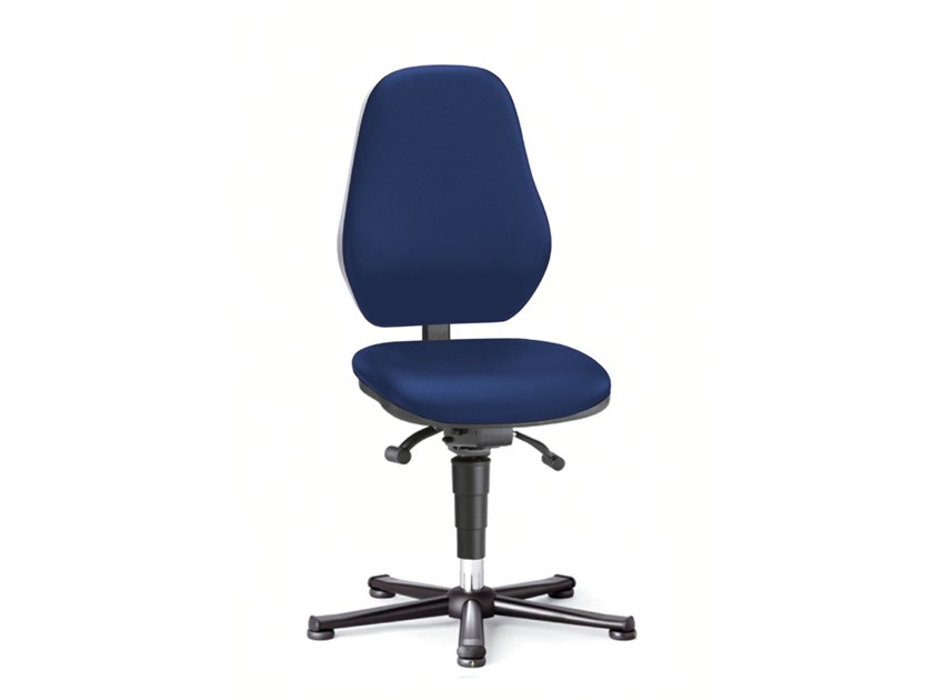 Laboratory chair with 5-Spoke base LABOR BASIC 9132 by bimos