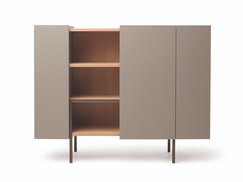 Highboard with sliding doors LADIN | Highboard by Busnelli