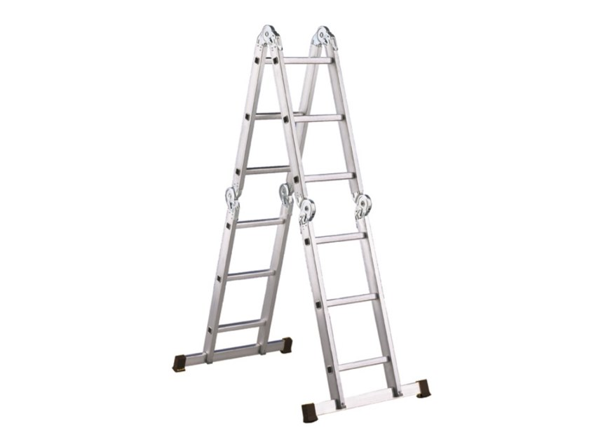 Aluminium heavy duty ladder LADY by SVELT